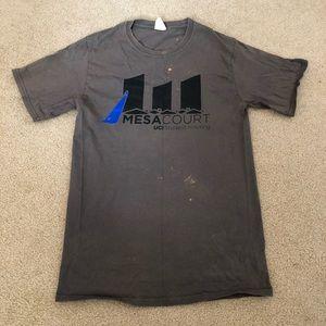 uc irvine mesa court housing gray graphic t-shirt